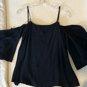 Bailey 44 cold shoulder top, XS, new with tags